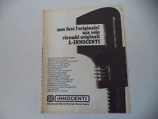 advertising Pubblicità 1973 RICAMBI INNOCENTI LEYLAND
