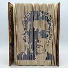Book Folding Pattern - Mark Measure Cut & Fold - Arnold Schwarzenegger