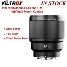 VILTROX 85MM F1.8 STM X-mount Focus Lens AF Full Frame for fujifilm x mount New