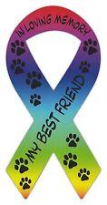 Ribbon Shaped Magnets: In Loving Memory | My Best Friend | Cars, Trucks, Rainbow