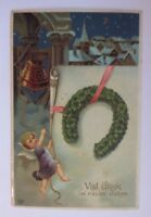 """ New Year, Church, Angel, Bell, Horseshoe, Cloverleaf "" 1929 (52748)"