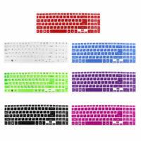 Negro transparente de silicona para teclado de pantalla para Acer 5830TG 5830T