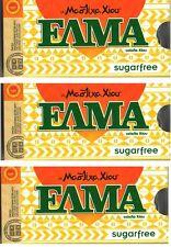 ELMA  SUGAR FREE  GREEK ORIGINAL CHIOS NATURAL MASTIC GUM (MASTIHA) 3 X12
