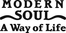 Modern soul sticker scooter northern soul crossover mod reggae