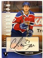 2012-13 ITG Heroes & Prospects Autograph Curtis Lazar Auto SP Vault #A-CL