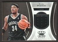 2018-19 Crown Royale Basketball JERSEY #J-PP Paul Pierce