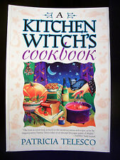 BRAND NEW! A KITCHEN WITCH'S COOKBOOK MAGICKAL RECIPES FOR WICCANS & PAGANS