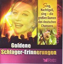 Gold. Schlager-Erinnerungen - Sing Nachtigall...  Reader's Digest  3 CD Box  OVP