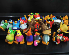 "lot of 8 Disney Club Penguin MINI Figure ( by random )  0.8""-1""  high #jj8"