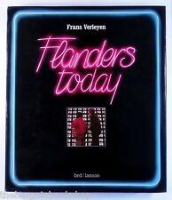 FLANDERS TODAY Frans Verleyen (1985) - HARDBACK - Near MINT