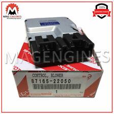 87165-22050 GENUINE OEM BLOWER MOTOR CONTROL 8716522050
