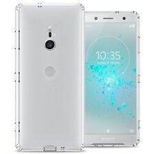 For Sony Xperia XZ3 Case Hard Back TPU Bumper Hybrid Shockproof Slim Phone Cover