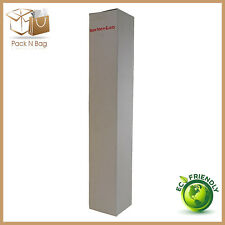 100 100x100x600mm  Tower Cartons White Shipping RSC Cardboard boxes Melbourne