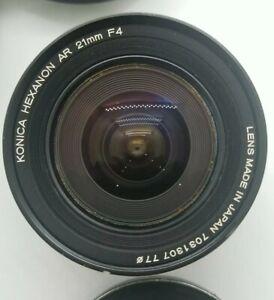 Konica Hexanon AR 21mm f/4 Lens