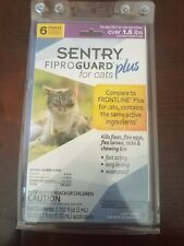 Sentry Fiproguard Plus Flea and Tick Topical for Cats 6 Month Supply