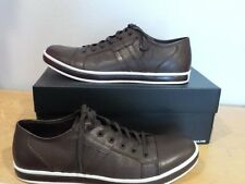 NEW Kenneth Cole New York Brand Wagon BROWN Mens Fashion Sneakers SIZE 10   NIB