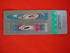 SWATCH CINTURINO x gent GULP in BLISTER - GK139 - 1991 NUOVO - strap band new