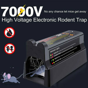 Electronic Mouse Trap Victor Control Rat Killer Pest Electric Rodent Zapper UK