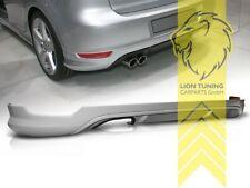 Heckansatz Heckspoiler Diffusor für VW Golf 6 Limousine für GT GTI Optik