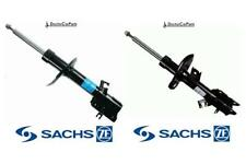 Front Pair of Shock Absorbers Struts FOR NISSAN X-TRAIL T31 07-13 2.0 2.5 SACHS