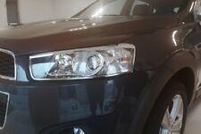 Auto Clover Chrome Headlight Lamp Surrounds Trim Set for Chevrolet Captiva 2011+