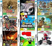 Nintendo DS Games - Choose Your Own Title *Free Next Day Post* Cartridge Only