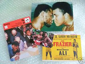 MUHAMMAD ALI Boxing Memorabilia Photo, Postcard, Photo UPI Etc