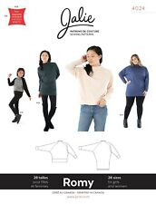 Jalie 4024 Romy Loose-fit Sweater & Tunic Sewing Pattern 28 Sizes Women & Girls