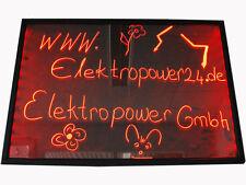 LED Schreibtafel Licht-Tafel Werbetafel Beleuchtung Writing Board 50x30x1,2cm//