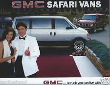 Truck Brochure - GMC - Safari Van - 1985 (T1206)