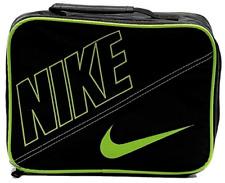 Nike Swoosh Lunch Bag, Black and Green