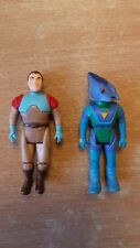 Dino Riders Rayy Gunnur Action Figure Vintage Toy 1988 Tyco Ice Blister Age Rare