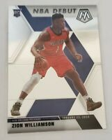 2019-20 Panini Mosaic NBA Debut #269 Zion Williamson RC Pelicans