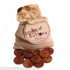Buttons ~ BAG OF 48 WOODEN BUTTONS ~ by Moda