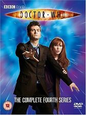 Doctor Who - Series 4 - Complete (DVD 2008, 4-Disc Set) season 4 fourth 4th four