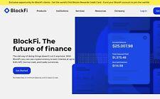 BlockFi Wallet Exchange App Free Money Bonus $10 Invest Earn Code Bitcoin crypto