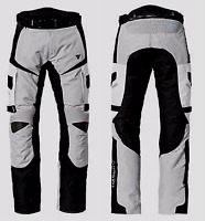 Triumph Navigator Mens Grey Black Armoured Motorcycle Trousers NEW RRP £225!!!