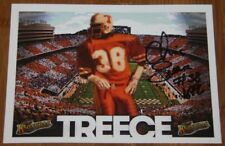 2015 Chris Treece signed Tennessee Vols Knoxville Harley-Davidson Promo Card