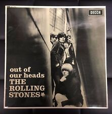 Rolling Stones Out Of Our Heads LP Vinyl Import UK Repress Laminated Sleeve Rock