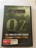 Oz : Season 1 (DVD, 2007, 2-Disc Set) Complete 8 Episodes, 8 Hours