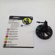 Heroclix Deadpool & X-Force set Domino #018 Uncommon figure w/card!