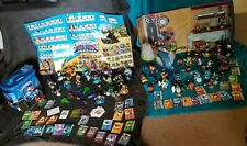 Huge Lot Skylanders-Figures,Waterfall, Crystals,Travel Tote,Super Charger,Cards+