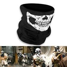 Skull Mask Skeleton Motorcycle Biker Scarf Face Neck Tube Bandana Ski Paintball