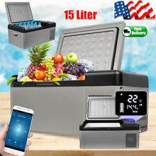 Us Portable Travel Mini Car/home Freezer Electric Fridge Refrigerator Cooler App