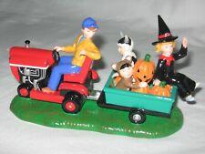 Gathering Pumpkins #55200 Halloween Series Snow Village Department 56