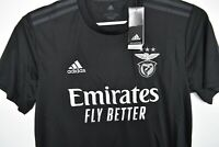 Adidas Climalite SLB Emirates Fly Better Soccer Jersey Sarges Black Size L $90