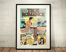 True Romance. Limited Edition Print. Clarence and Alabama (Prints/Poster)