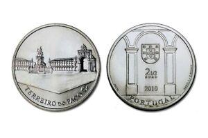 PORTUGAL 2010 2,5 EURO € TERREIRO DO PAÇO PIECE NEUVE UNC