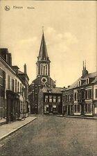 Hirson France Picardie 1915 Feldpost Stempel Kriegslazarett Kirche gel. n. Meine