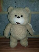 TED The Movie Talking Plush Soft Toy Bear - X Rated Version - TAGS -VGC FREE P&P